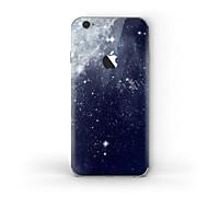 billiga Mobil cases & Skärmskydd-1 st Mobilskin för Reptålig Himmel Mönster PVC iPhone 6s Plus/6 Plus