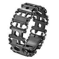 billiga Smart klocka Tillbehör-Klockarmband för Apple Watch Series 3 / 2 / 1 Apple Sportband Rostfritt stål Handledsrem