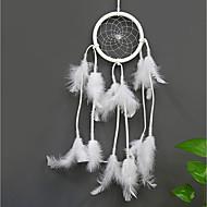 billige Veggdekor-Veggdekor Fjær / Pels Parfymert Veggkunst, Drømmefanger av 1