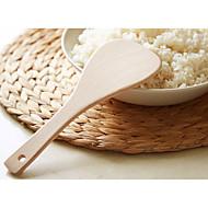 baratos Utensílios de Cozinha-Utensílios de cozinha De madeira Simples espátula 1pç