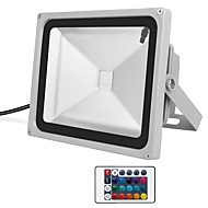 cheap LED Flood Lights-1pc 30W LED Floodlight Dimmable Waterproof Decorative Outdoor Lighting RGB 85-265V