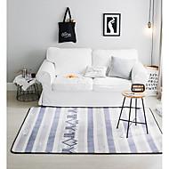 preiswerte Heimtextilien-Vorleger Modern Baumwollflanell, Rechteckig Gehobene Qualität Teppich / Rutschfestes Latex