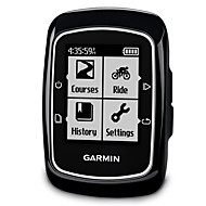 billige Sykkelcomputere og -elektronikk-GARMIN® EDGE 200 Sykkelcomputer / Syklingshastighetsmåler Vanntett / Stopur / GPS Veisykling / Langrenn / Sykkel med fast gir Sykling