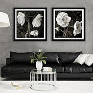cheap Framed Arts-Botanical Floral/Botanical Illustration Wall Art,Plastic Material With Frame For Home Decoration Frame Art Living Room
