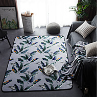 billige Hjemmetekstiler-Kreativ Moderne området tepper Flanellette, Overlegen kvalitet Rektangulær Geometrisk Teppe