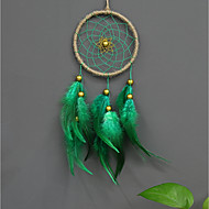 Wall Decor Feather/Fur Pastoral Wall Art, Dreamcatcher of 1