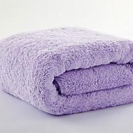 billige -Frisk stil Badehåndkle, Ensfarget Overlegen kvalitet Polyester/Bomull 100% Bomull Håndkle