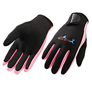 Bluedive Diving Gloves Sports Gloves Fishing Gloves 1.5mm Nylon Neoprene Full Finger Gloves Tactical Warm Quick Dry Diving Hunting Fishing / Kid's