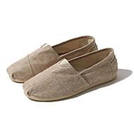 tanie Obuwie męskie-Męskie Buty Len Lato Comfort Mokasyny i pantofle na Casual Beige Camel