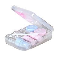 billiga Sminktillbehör-7 Kosmetikflaskor Hög kvalitet Plastik