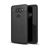 billiga Mobil cases & Skärmskydd-fodral Till LG V30 Q6 Stötsäker Skal Ensfärgat Mjukt TPU för LG V30+ LG V30 LG Q6 LG G6