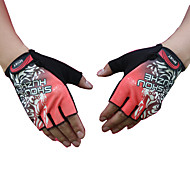 cheap Phones & Electronics-Half-finger Unisex Motorcycle Gloves Cloth Demin Wearable Sunscreen Non-Skid Breathability