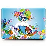 """tanie Akcesoria do MacBooka-MacBook Futerał na Seksowna dziewczyna Plastikowy Nowy MacBook Pro 15"""" Nowy MacBook Pro 13"""" MacBook Pro 15 cali MacBook Air 13 cali"""