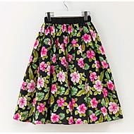 Djevojčice Cvjetni print Dnevno Ljeto Suknja Jednostavan Duga
