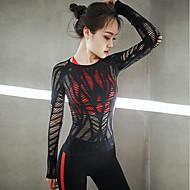 Joga Majice Yoga Quick dry Fitness strenchy Sportska odjeća Žene