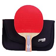 baratos Tenis de Mesa-DHS® R6006-R6007 Ping Pang/Tabela raquetes de tênis Madeira Borracha 6 Estrelas Cabo Curto Espinhas
