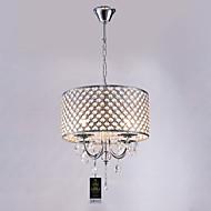 billige Bestelgere-Lightinthebox 4-Light Drum Lysekroner Opplys - Krystall, 110-120V / 220-240V, Varm Hvit, Pære ikke Inkludert / 10-15㎡ / E12 / E14