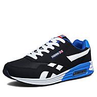 Herre Sko Kashmir Forår Efterår Komfort Sneakers for Afslappet Sort Rød Blå