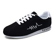 Χαμηλού Κόστους Παπούτσια για τρέξιμο-Ανδρικά Τούλι Άνοιξη / Φθινόπωρο Ανατομικό Αθλητικά Παπούτσια Τρέξιμο Αντιολισθητικό Μαύρο / Μαύρο και Κόκκινο / Μαύρο / Άσπρο