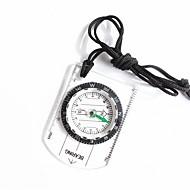 billiga Camping Verktyg, Karbinhakar & Rep-Kompasser Lätt och bekvämt Mätinstrument Liten storlek Kompass Klättring Utomhusträning Vandring Plast cm 1 st