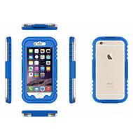 billiga Mobil cases & Skärmskydd-fodral Till Apple iPhone 6 Stötsäker / Genomskinlig Skal Ensfärgat Mjukt PC för iPhone 6s