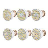 billiga Belysning-YWXLIGHT® 6pcs 5W 400-500lm GU10 MR16 E26 / E27 LED-spotlights 54 LED-pärlor SMD 2835 Varmvit Kallvit Naturlig vit 110-130V 220-240V