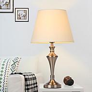 billige Lamper-Traditionel / Klassisk Dekorativ Bordlampe Til Metall 220-240V Sølv