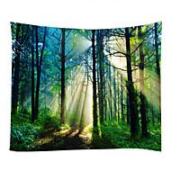 billige Veggdekor-Landskap Stilleben Veggdekor 100% Polyester Klassisk Tradisjonell Veggkunst, Veggtepper av