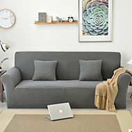 billige Overtrekk-Moderne 100% Polyester Mønstret Toseters sofatrekk, Enkel Ensfarget Pigment Tryk slipcovere