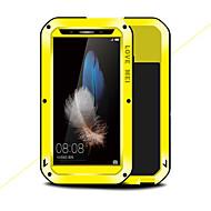billiga Mobil cases & Skärmskydd-fodral Till Huawei Enjoy 5S Stötsäker Fri Från Vatten / Smuts / Stöt Fodral Ensfärgat Hårt Metall för Huawei Enjoy 5S
