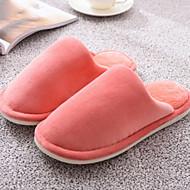 tanie Pantofle-Zwyczajny Pantofle Pantofle damskie Bawełna Bawełna Jeden kolor