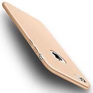 billiga Mobil cases & Skärmskydd-fodral Till Apple iPhone 7 / iPhone 6 Stötsäker Skal Ensfärgat Mjukt TPU för iPhone 7 Plus / iPhone 7 / iPhone 6s Plus