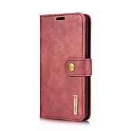 DG.MING Case สำหรับ LG V30 / V20 Card Holder / with Stand / Flip ตัวกระเป๋าเต็ม สีพื้น Hard หนังแท้ สำหรับ LG V30 / LG V20