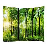 tanie Dekoracje ścienne-Krajobraz Martwa natura Dekoracja ścienna 100% Polyester Klasyczny Tradycyjny Wall Art, Ścienne Gobeliny z