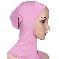 Femme Basique Hijab Couleur Pleine