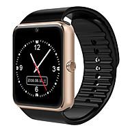 billige Sportsur-Herre / Dame Sportsur / Modeur / Digital Watch Kinesisk Bluetooth / Kalender / Selvlysende Læder Bånd Afslappet / Mode Sort / Rød