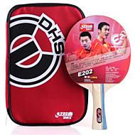 baratos Tenis de Mesa-DHS® E202 FL Ping Pang/Tabela raquetes de tênis Borracha Cabo Comprido Espinhas