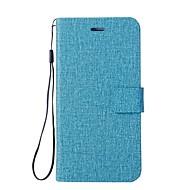 billiga Mobil cases & Skärmskydd-fodral Till Huawei Nova 2 / Nova Plånbok / Korthållare / med stativ Fodral Enfärgad Hårt PU läder för Nova 2 Plus / Nova 2 / Nova