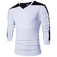 Majica s rukavima Muškarci - Aktivan V izrez Slim
