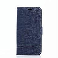 billiga Mobil cases & Skärmskydd-fodral Till Xiaomi Mi Max 2 / Mi 5X Korthållare / med stativ Fodral Enfärgad Hårt Äkta Läder för Xiaomi Mi Max 2 / Xiaomi Mi 5X / Xiaomi A1
