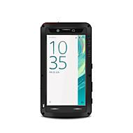 billiga Mobil cases & Skärmskydd-fodral Till Sony Xperia XA Fri Från Vatten / Smuts / Stöt Fodral Ensfärgat Hårt Metall för Sony Xperia XA Ultra Sony Xperia XA