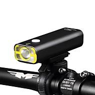 billige Sykkellykter og reflekser-LED Lommelygter Sykkellykter LED LED Sykling Lommelykt Vanntett Lettvekt Oppladbart Batteri 400 Lumens Sykling
