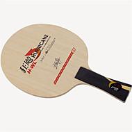 baratos Tenis de Mesa-DHS® Hurricane H-WL FL Ping Pang/Tabela raquetes de tênis Vestível Durável De madeira Fibra de carbono EGS 5-PLY 1