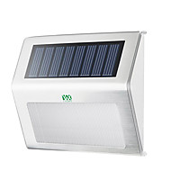 billige Utendørs Lampeskjermer-YWXLIGHT® 1pc 2W LED Solcellebelysning Vanntett Dekorativ Utendørsbelysning Varm hvit Kjølig hvit DC3.7V
