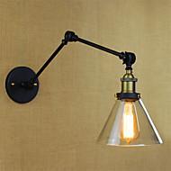 baratos Arandelas de Parede-Rústico / Campestre Luminárias de parede Metal Luz de parede 110-120V / 220-240V 40W