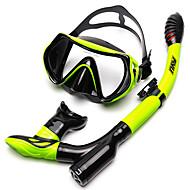 Snorkelpakker Dykking Pakker - Dykkermaske snorkel - Anti-dugg Svømming Dykking Silikon  Til Voksen