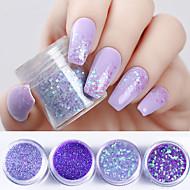 voordelige Nagelkunst-4 Glitter Poeder Nail Glitter Nail Art Design