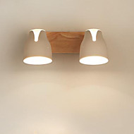 billige Spotlys-Spotlys / Takplafond Omgivelseslys Tre Tre / Bambus 110-120V / 220-240V Pære ikke Inkludert / E26 / E27
