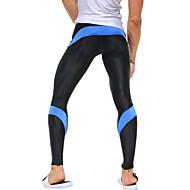 baratos Roupas Esportivas-Homens Leggings de Ginástica Leggings de Corrida Secagem Rápida Alta Respirabilidade (>15,001g) Respirável Materiais Leves Compressão