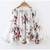Bluza Žene-Vintage Dnevno Cvjetni print Lađa izrez